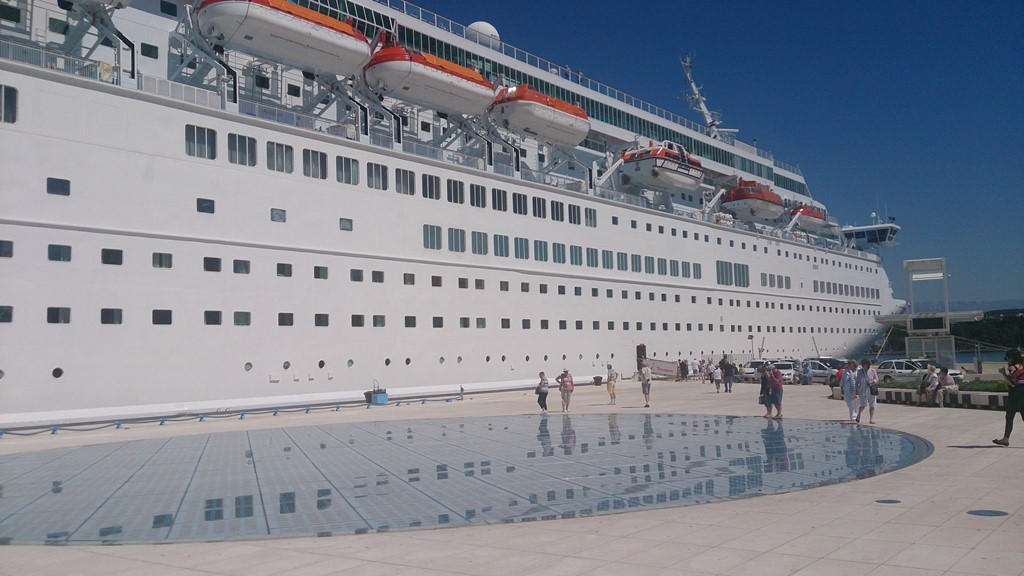 Zadar ferry port