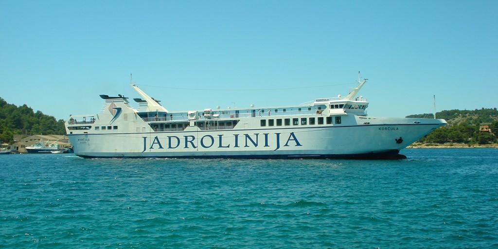 Vela Luka Ferry
