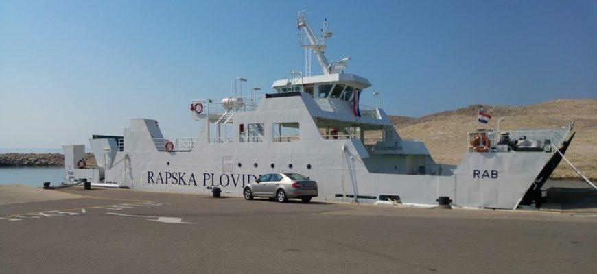 Misnjak Rab Ferry