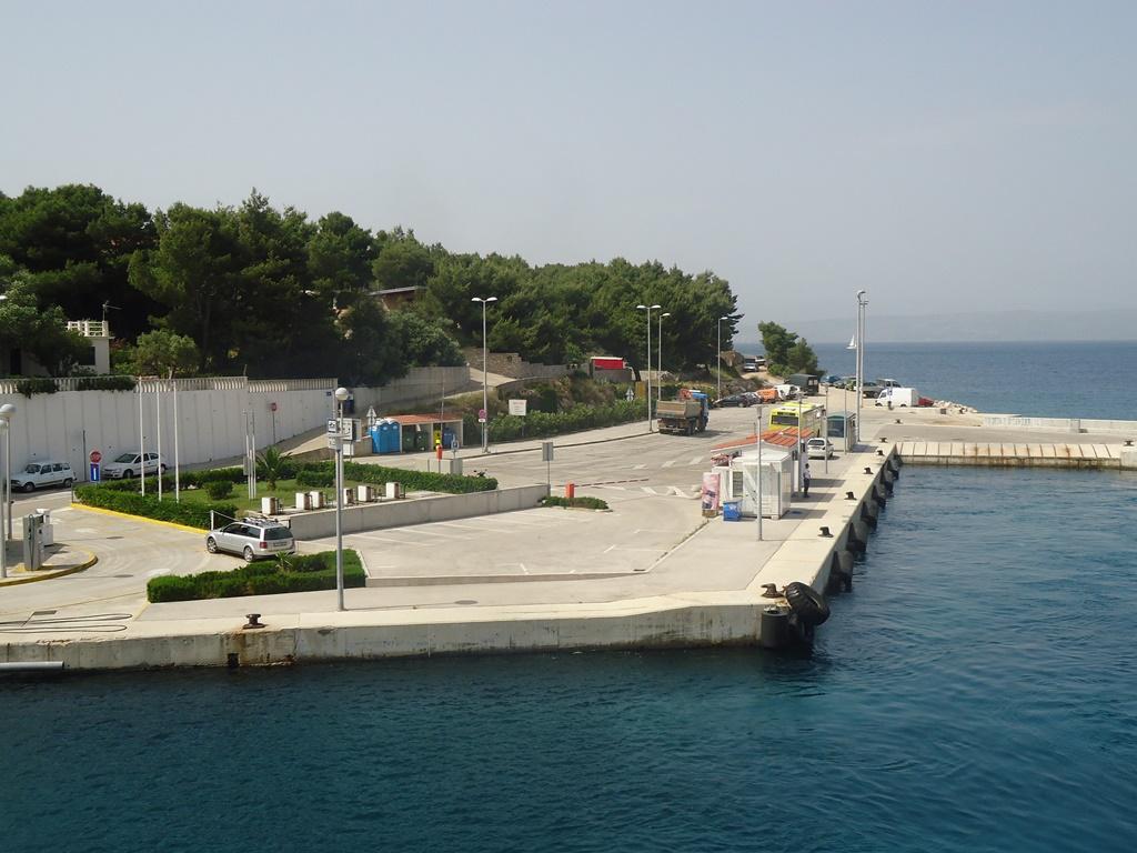 Rogac ferry terminal