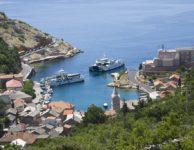 Rab ferry port