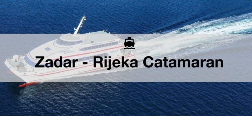 Ferry Zadar Rijeka