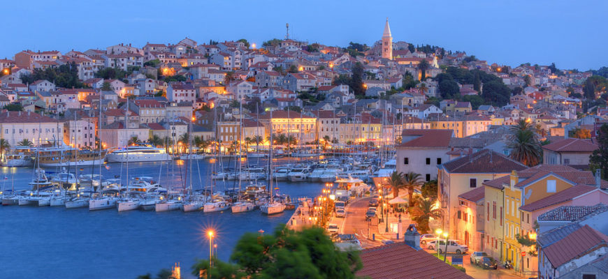 Mali Losinj at Night