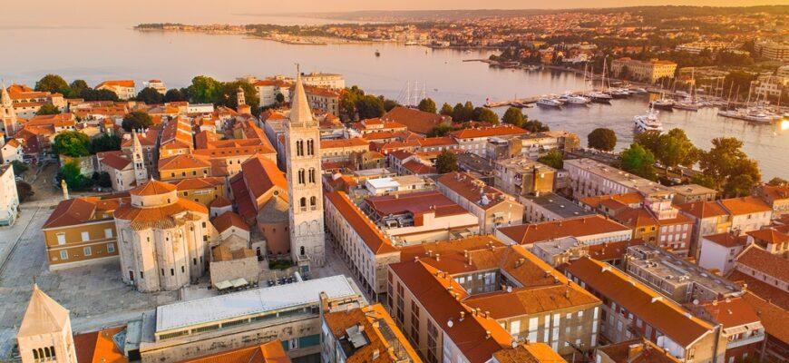 Zadar historic center