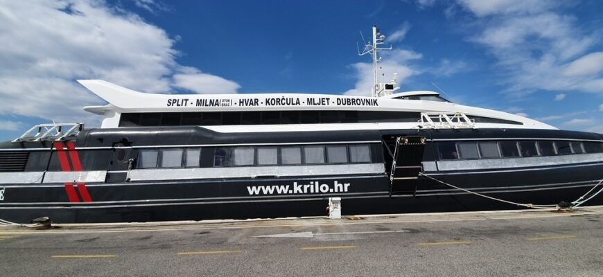 Krilo ferry Croatia