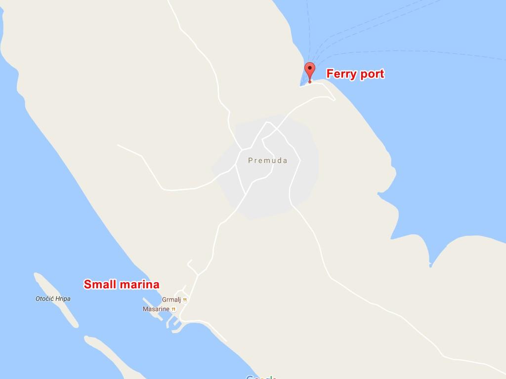 Premuda-ferry-port
