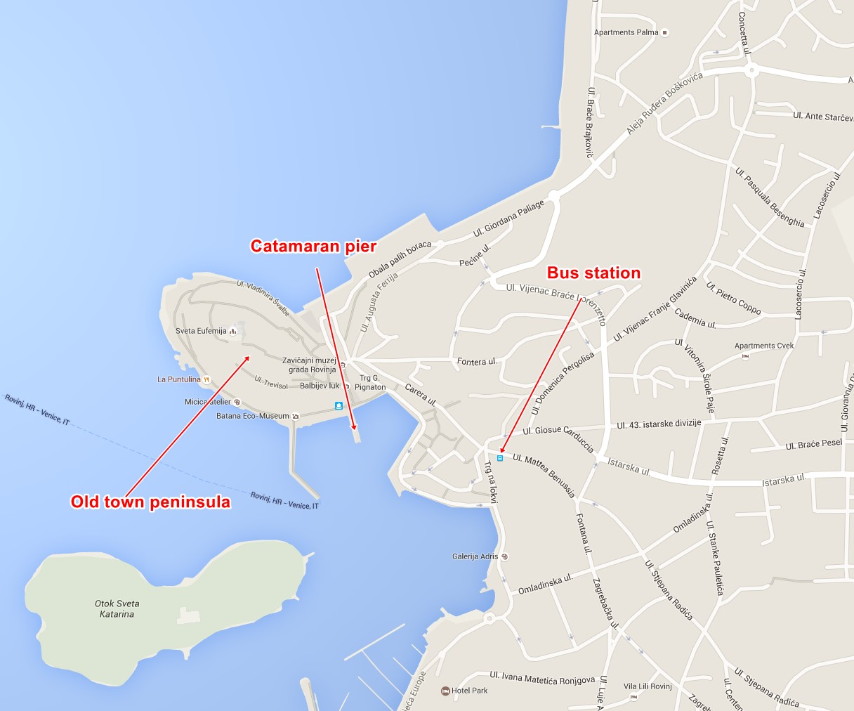 Rovinj-catamaran