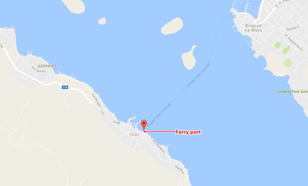 Tkon ferry terminal