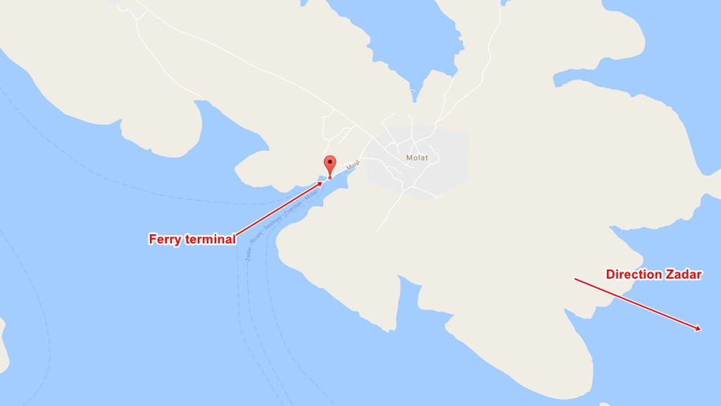 molat ferry port